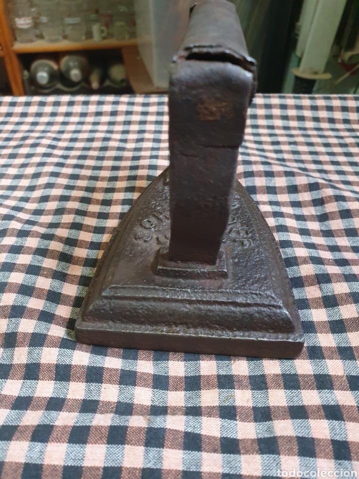 Antigüedades: Plancha De Hierro Marca Schurhoff 3 S Cheap - Foto 4 - 203993292