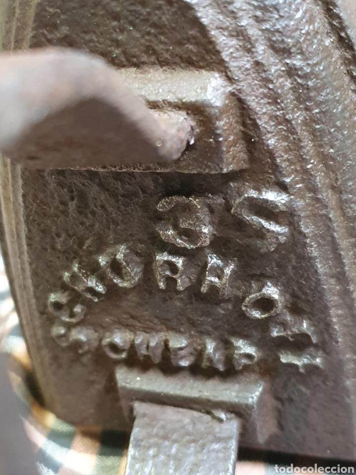 Antigüedades: Plancha De Hierro Marca Schurhoff 3 S Cheap - Foto 6 - 203993292