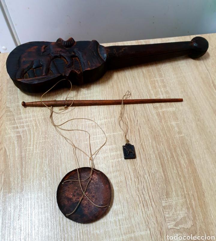 Antigüedades: Romana para pesar opio - Foto 3 - 203996733
