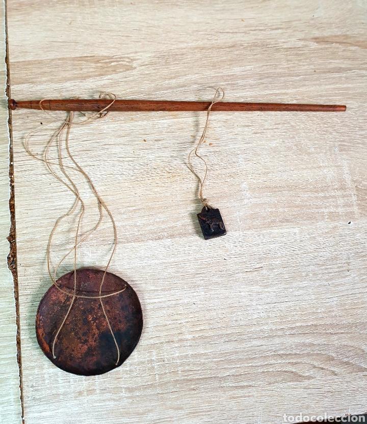 Antigüedades: Romana para pesar opio - Foto 6 - 203996733