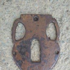 Antigüedades: FRONTAL DE CERRADURA SIGLO XVIII.. Lote 204094532