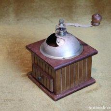 Antigüedades: ANTIGUO MOLINILLO DE CAFÉ, MADERA, AÑOS 50.. Lote 204107038