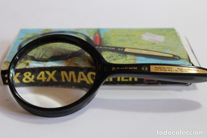 LUPA WALTEX MAGNIFIER MODEL 7507 (Antigüedades - Técnicas - Instrumentos Ópticos - Lupas Antiguas)