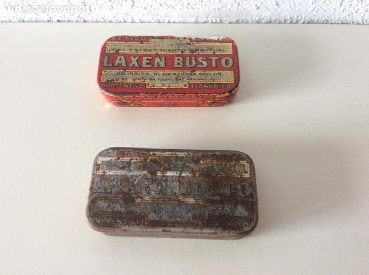 CAJAS LAXEN BUSTO (Antigüedades - Técnicas - Herramientas Profesionales - Medicina)