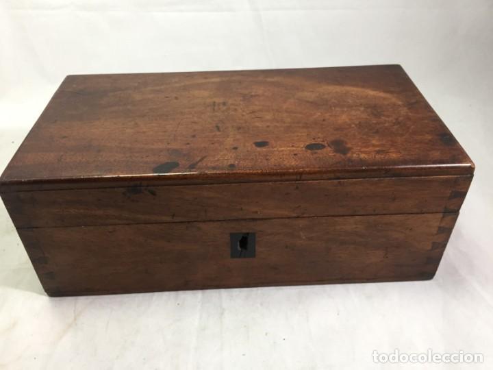 Antigüedades: ANTIGUO MICROSCOPIO MONOCULAR HARTNACK & PRAZMOWSKY c. 1870, EN SU CAJA - Foto 20 - 204169166