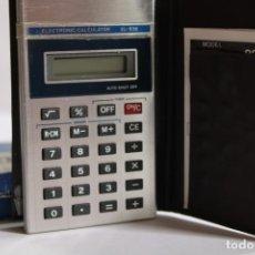 Antigüedades: ELECTRONIC CALCULATOR EL 838. Lote 204171332