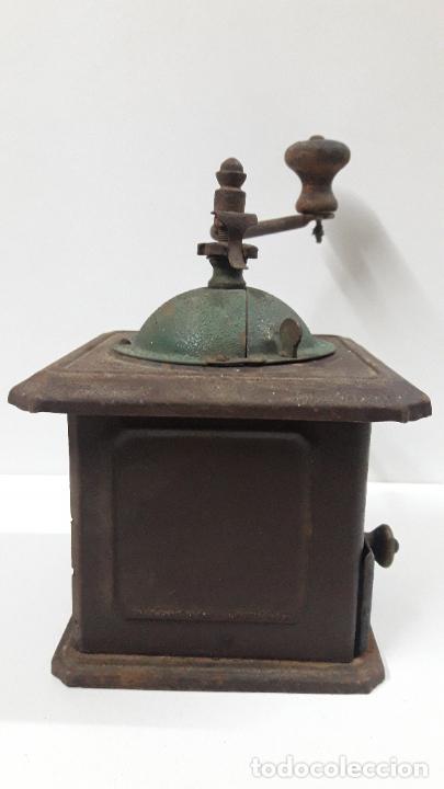 Antigüedades: ANTIGUO MOLINILLO DE CAFE ELMA - METALICO . ORIGINAL DE EPOCA - Foto 12 - 204175668