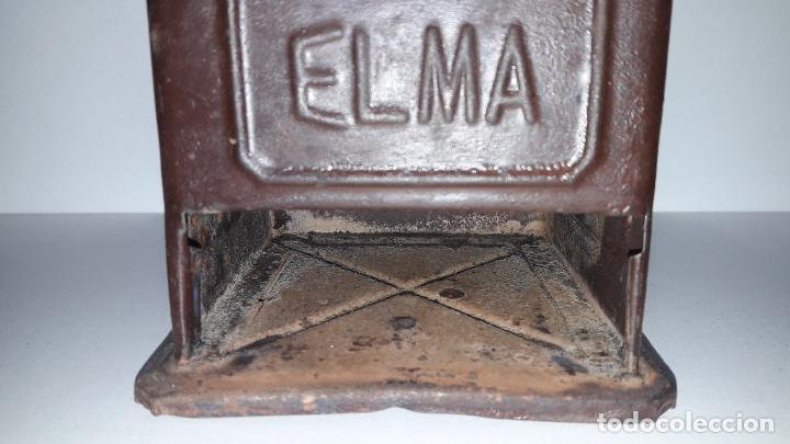 Antigüedades: ANTIGUO MOLINILLO DE CAFE ELMA - METALICO . ORIGINAL DE EPOCA - Foto 16 - 204175668