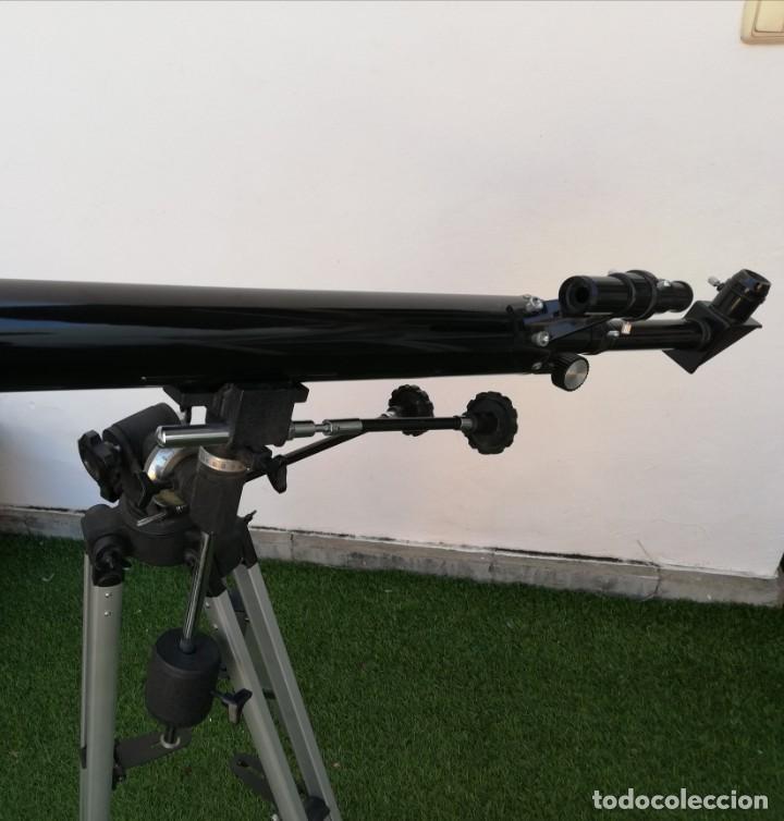 Antigüedades: Telescopio Everwin. Trípode desplegable - Foto 3 - 204183710
