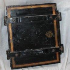 Antigüedades: ANTIGUA COPIADORA DE GABINETE (CABINET COPYING PRESS) CON LIBRO DE NOTAS (PRINCIPIOS SIGLO XX). Lote 204209073