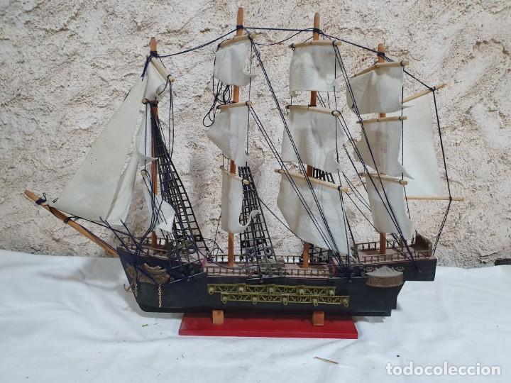 BARCO DECORATIVO (Antigüedades - Antigüedades Técnicas - Marinas y Navales)