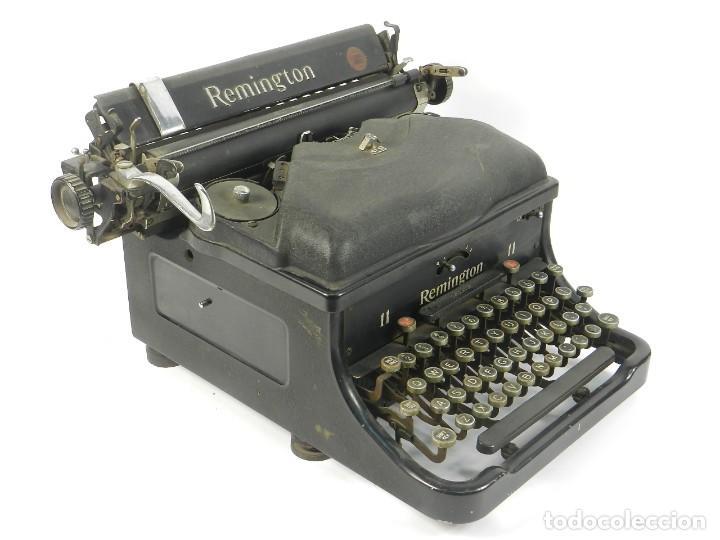 MAQUINA DE ESCRIBIR REMINGTON Nº11 SPEED STROCKE 1936 TYPEWRITER SCHREIBMASCHINE (Antigüedades - Técnicas - Máquinas de Escribir Antiguas - Remington)