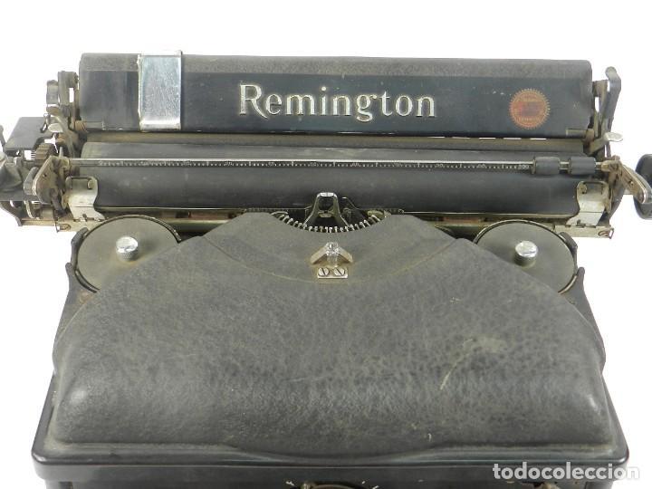 Antigüedades: MAQUINA DE ESCRIBIR REMINGTON Nº11 SPEED STROCKE 1936 TYPEWRITER SCHREIBMASCHINE - Foto 4 - 204266596