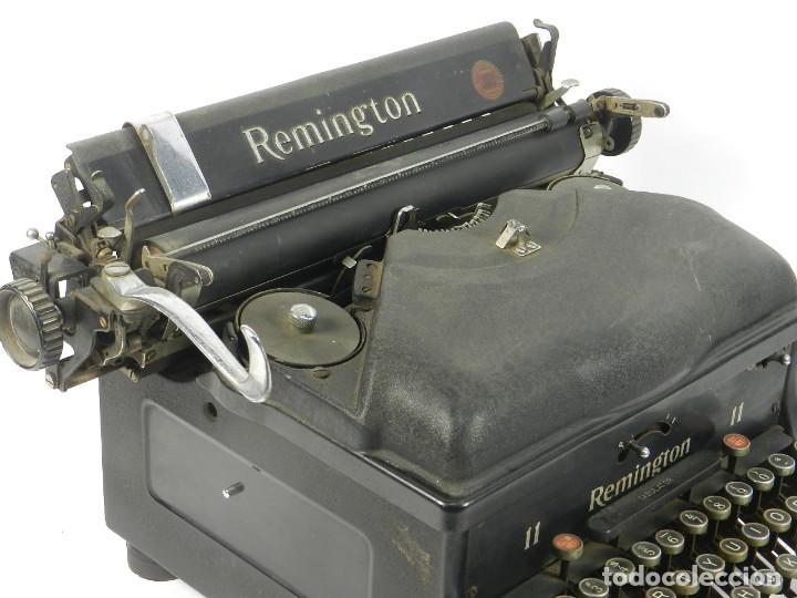 Antigüedades: MAQUINA DE ESCRIBIR REMINGTON Nº11 SPEED STROCKE 1936 TYPEWRITER SCHREIBMASCHINE - Foto 5 - 204266596
