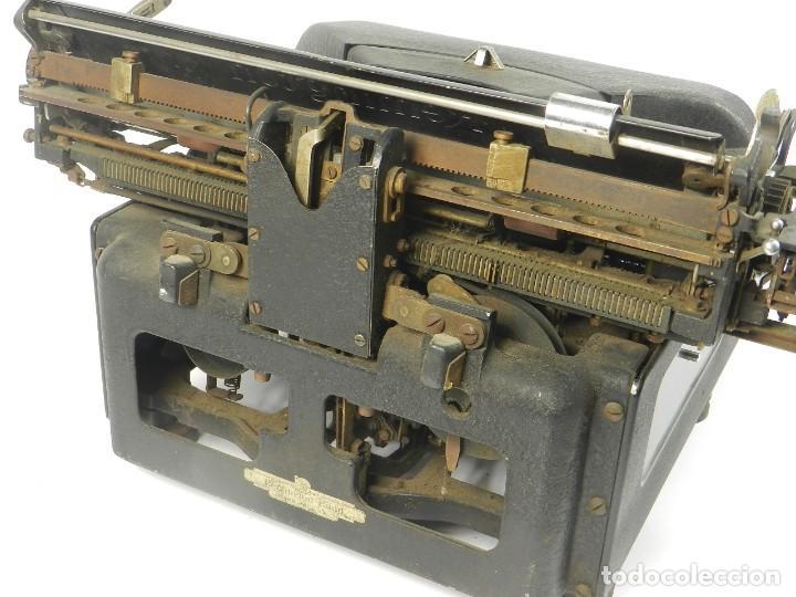 Antigüedades: MAQUINA DE ESCRIBIR REMINGTON Nº11 SPEED STROCKE 1936 TYPEWRITER SCHREIBMASCHINE - Foto 7 - 204266596
