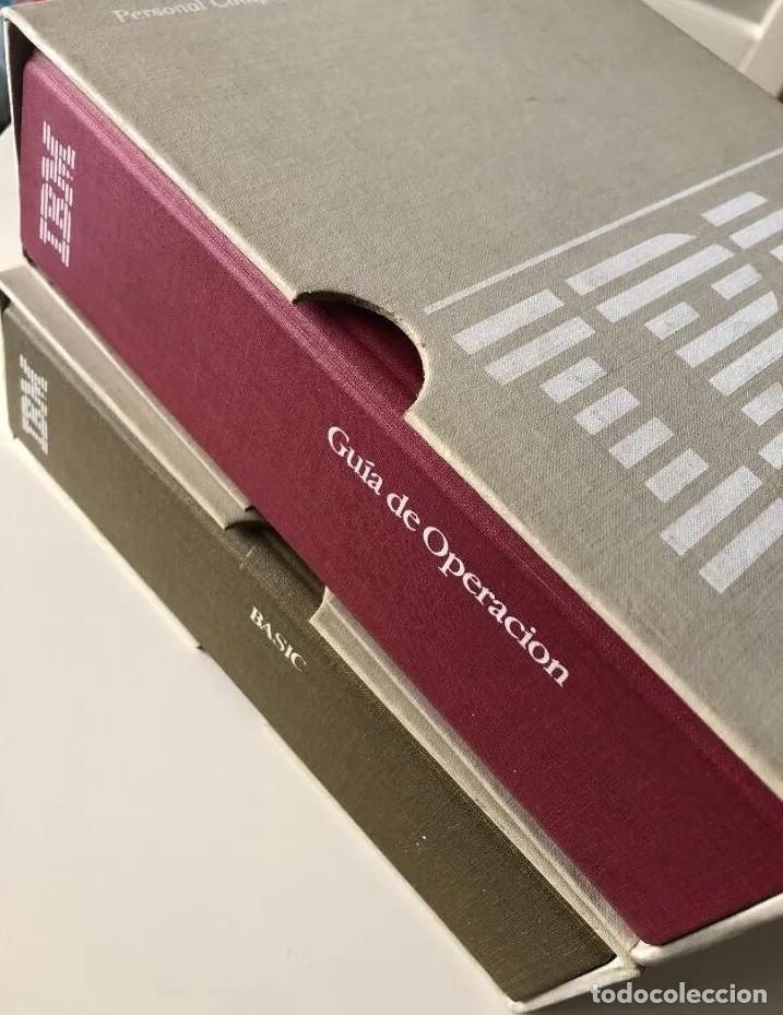 LOTE GUÍA DE OPERACIÓN + BASIC IBM - PC ( INCLUYE EL DISCO DE DIAGNÓSTICOS) (Antigüedades - Técnicas - Ordenadores hasta 16 bits (anteriores a 1982))