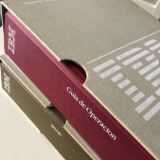 Antigüedades: LOTE GUÍA DE OPERACIÓN + BASIC IBM - PC ( INCLUYE EL DISCO DE DIAGNÓSTICOS). Lote 204346238