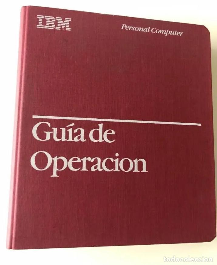 Antigüedades: LOTE GUÍA DE OPERACIÓN + BASIC IBM - PC ( INCLUYE EL DISCO DE DIAGNÓSTICOS) - Foto 3 - 204346238