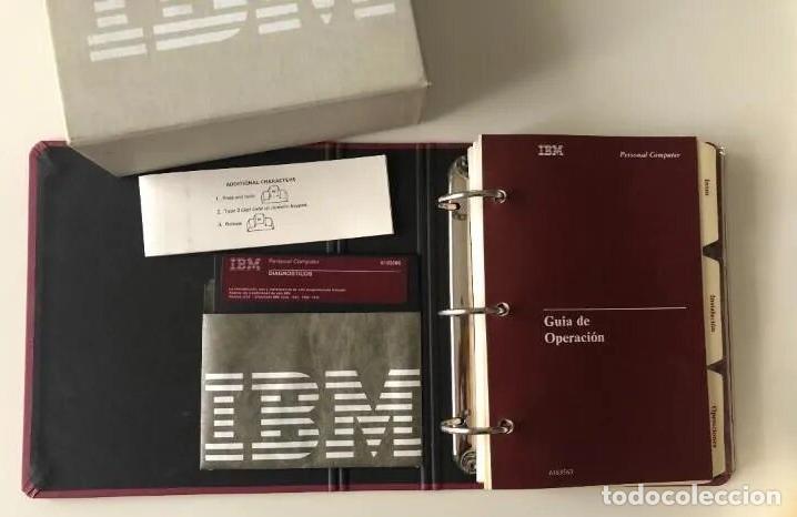 Antigüedades: LOTE GUÍA DE OPERACIÓN + BASIC IBM - PC ( INCLUYE EL DISCO DE DIAGNÓSTICOS) - Foto 4 - 204346238