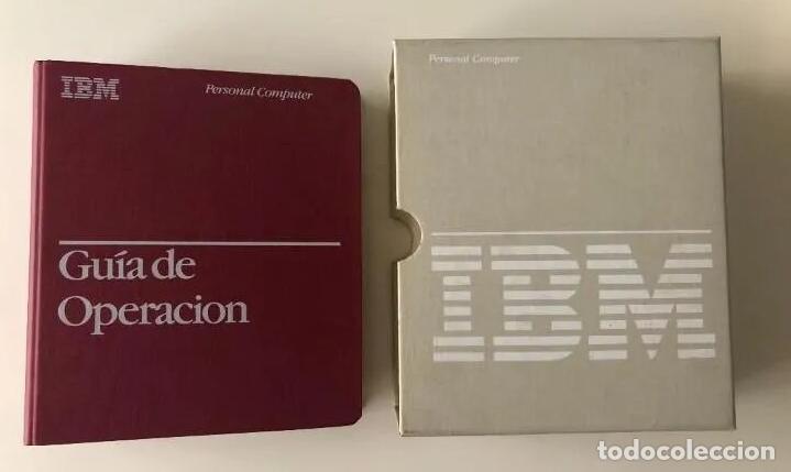 Antigüedades: LOTE GUÍA DE OPERACIÓN + BASIC IBM - PC ( INCLUYE EL DISCO DE DIAGNÓSTICOS) - Foto 7 - 204346238