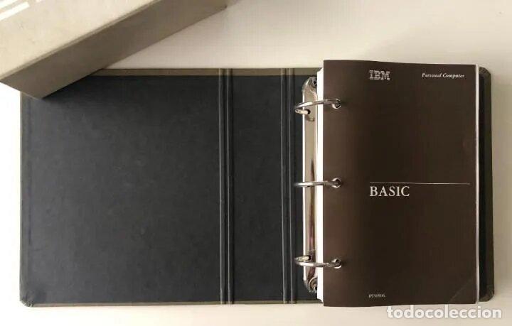 Antigüedades: LOTE GUÍA DE OPERACIÓN + BASIC IBM - PC ( INCLUYE EL DISCO DE DIAGNÓSTICOS) - Foto 9 - 204346238