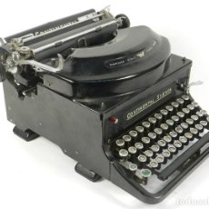 Antigüedades: MAQUINA DE ESCRIBIR CONTINENTAL SILENTA AÑO 1934 TYPEWRITER SCHREIBMASCHINE. Lote 204349293