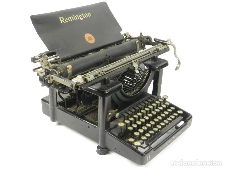 MAQUINA DE ESCRIBIR REMINGTON STANDARD Nº11 AÑO 1920 TYPEWRITER SCHREIBMASCHINE (Antigüedades - Técnicas - Máquinas de Escribir Antiguas - Remington)
