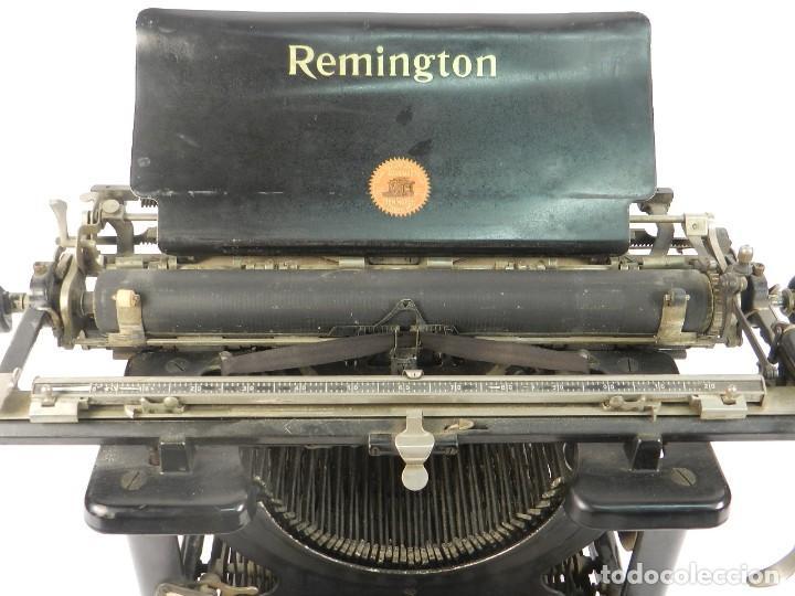 Antigüedades: MAQUINA DE ESCRIBIR REMINGTON STANDARD Nº11 AÑO 1920 TYPEWRITER SCHREIBMASCHINE - Foto 4 - 204353146
