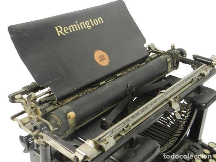 Antigüedades: MAQUINA DE ESCRIBIR REMINGTON STANDARD Nº11 AÑO 1920 TYPEWRITER SCHREIBMASCHINE - Foto 5 - 204353146