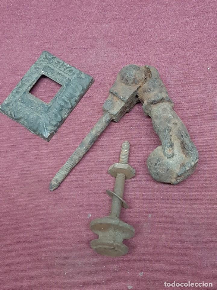 ALDABA.. LLAMADOR... MANO.. FATIMA... (Antigüedades - Técnicas - Cerrajería y Forja - Llamadores Antiguos)
