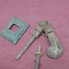 Antigüedades: ALDABA.. LLAMADOR... MANO.. FATIMA.... Lote 204371932