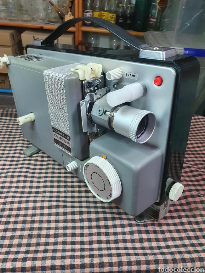 Antigüedades: Proyector de cine marca Canon modelo p- 8 cinestar s - 2. - Foto 10 - 204375062