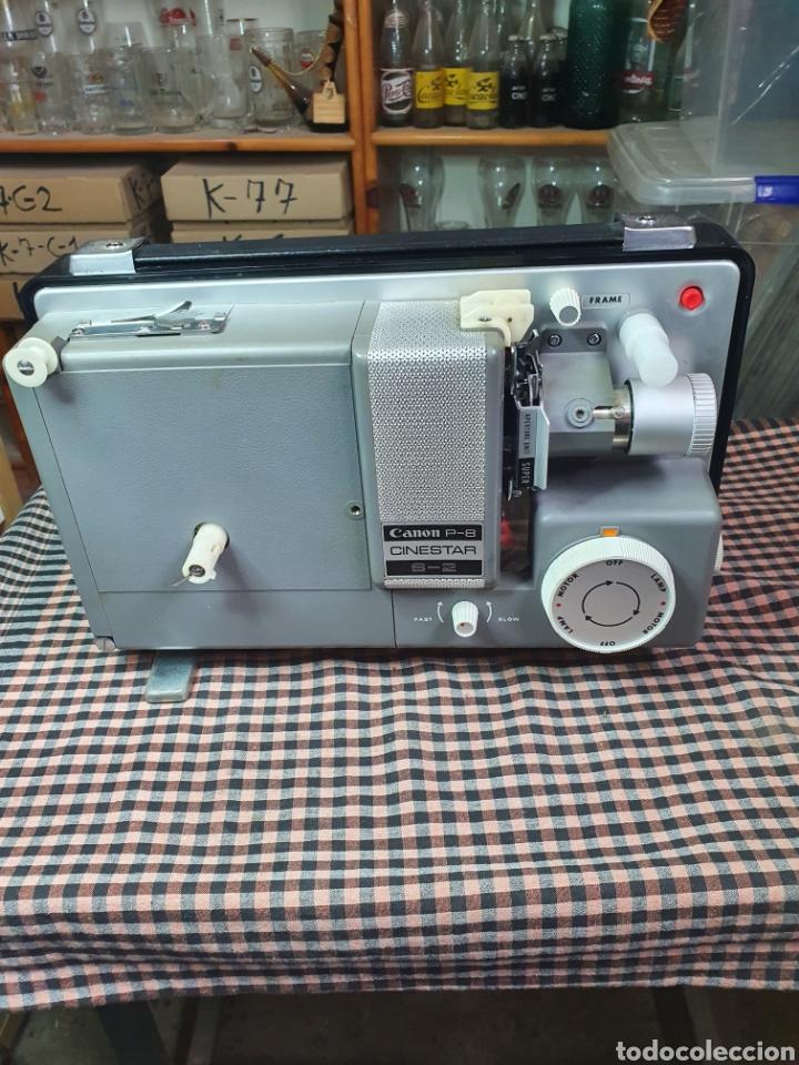 Antigüedades: Proyector de cine marca Canon modelo p- 8 cinestar s - 2. - Foto 12 - 204375062