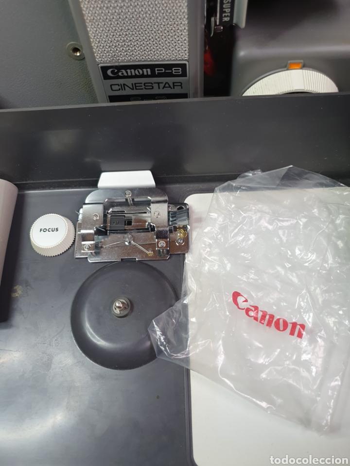 Antigüedades: Proyector de cine marca Canon modelo p- 8 cinestar s - 2. - Foto 13 - 204375062