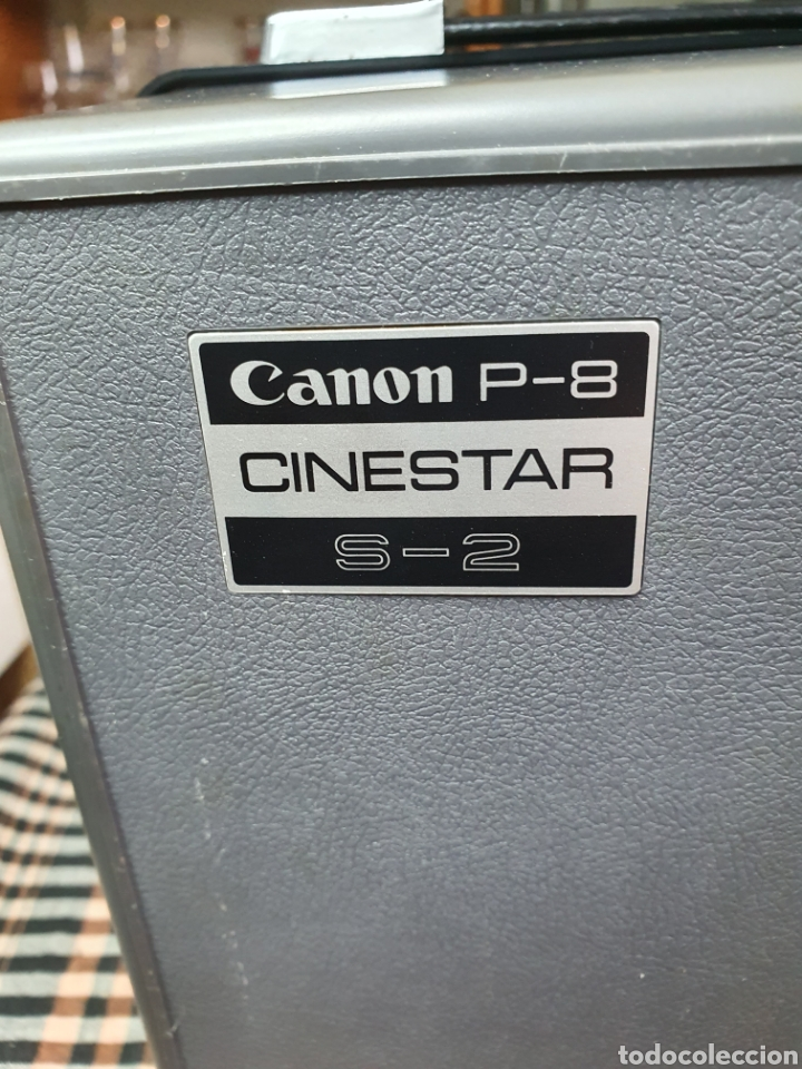 Antigüedades: Proyector de cine marca Canon modelo p- 8 cinestar s - 2. - Foto 17 - 204375062