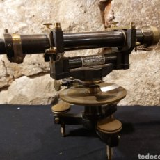 Antigüedades: ANTIGUO NIVEL TOPOGRÁFICO MARCA SECRETAN PARIS. Lote 204395007