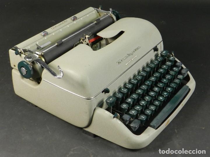MAQUINA DE ESCRIBIR REMINGTON QUIET RITER AÑO 1950 TYPEWRITER SCHREIBMASCHINE (Antigüedades - Técnicas - Máquinas de Escribir Antiguas - Remington)
