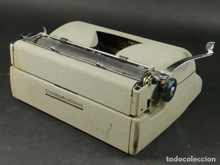 Antigüedades: MAQUINA DE ESCRIBIR REMINGTON QUIET RITER AÑO 1950 TYPEWRITER SCHREIBMASCHINE - Foto 6 - 204405693