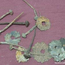 Antigüedades: LOTE CLAVOS FORJA...XIX. Lote 204414766