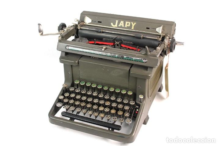 ANTIGUA MAQUINA DE ESCRIBIR JAPY.-FUNCIONANDO- (Antigüedades - Técnicas - Máquinas de Escribir Antiguas - Otras)