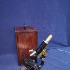 Antigüedades: MICROSCOPIO BAUSCH&LOMB 1915. Lote 204416626