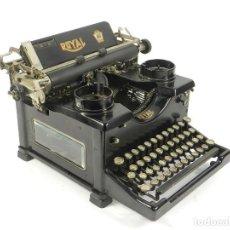 Antigüedades: MAQUINA DE ESCRIBIR ANTIGUA ROYAL Nº10 AÑO 1913 TYPEWRITER SCHREIBMASCHINE. Lote 204422760