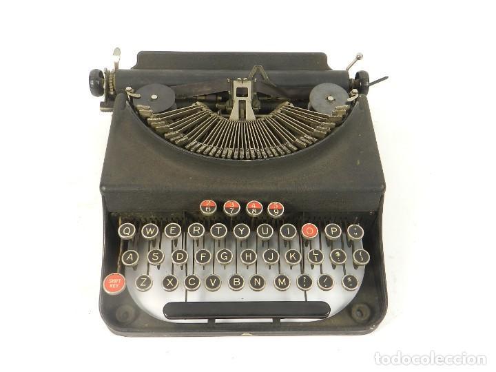 MAQUINA DE ESCRIBIR REMINGTON MONARCH PIONEER AÑO 1937 TYPEWRITER SCHREIBMASCHINE (Antigüedades - Técnicas - Máquinas de Escribir Antiguas - Remington)