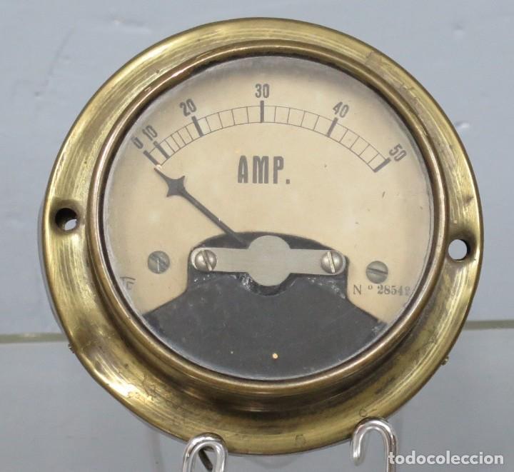 AMPERIMETRO (Antigüedades - Técnicas - Herramientas Profesionales - Electricidad)