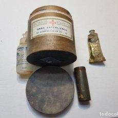 Antigüedades: LOTE ANTIGUO CAJAS DE FARMACIA Y POMADA. Lote 204491493