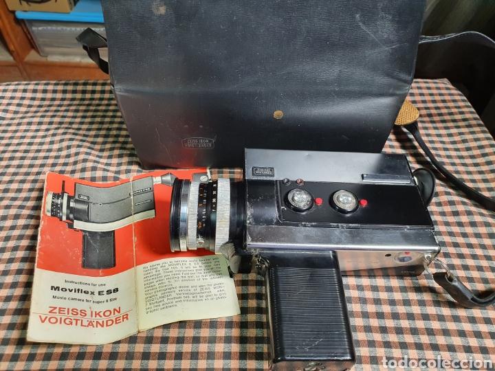 Antigüedades: Filmadora, tomavistas, zeiss ikon voigtlander móviflex s8 - Foto 2 - 204509462