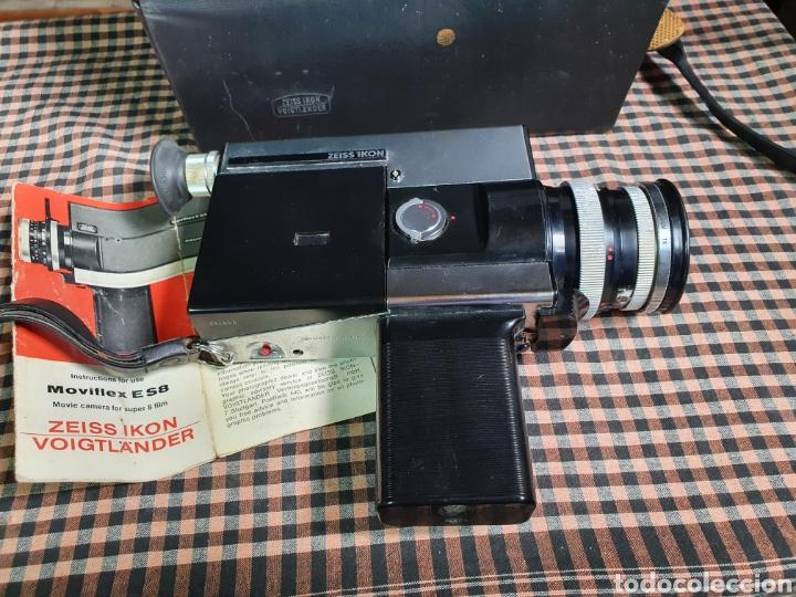 Antigüedades: Filmadora, tomavistas, zeiss ikon voigtlander móviflex s8 - Foto 3 - 204509462