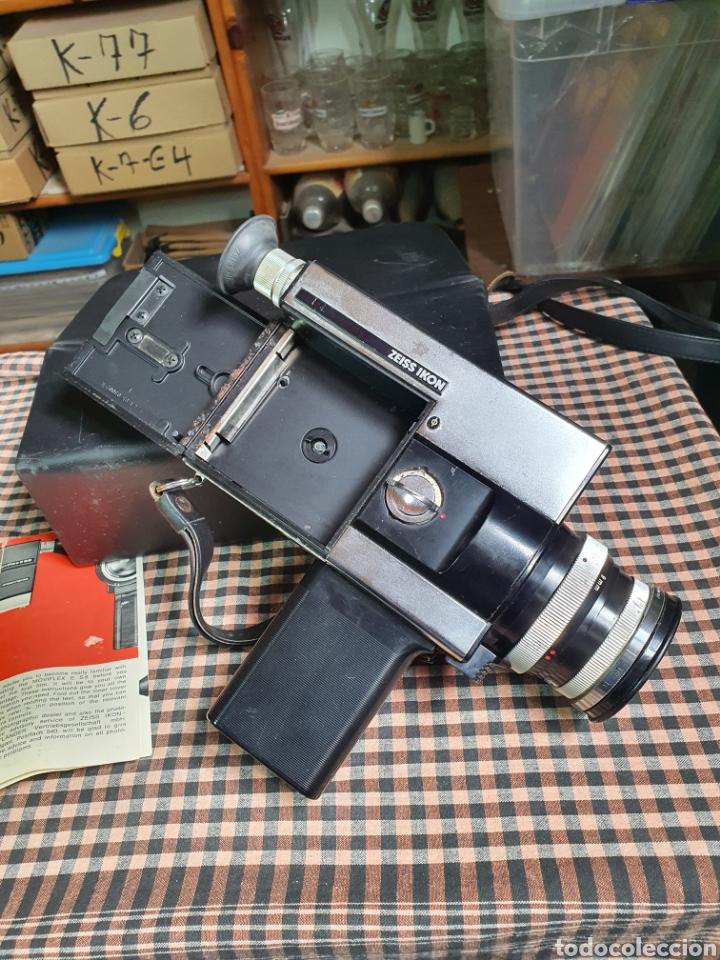 Antigüedades: Filmadora, tomavistas, zeiss ikon voigtlander móviflex s8 - Foto 4 - 204509462