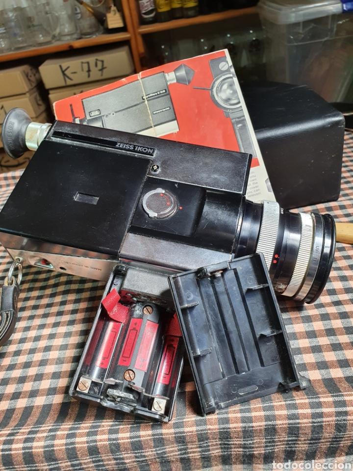 Antigüedades: Filmadora, tomavistas, zeiss ikon voigtlander móviflex s8 - Foto 5 - 204509462