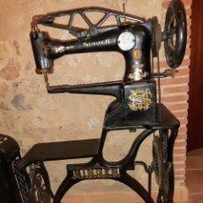 Antigüedades: MÁQUINA COSER SINGER ZAPATERO 29K1. Lote 204513211